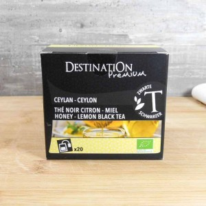 Thé Noir Citron Miel