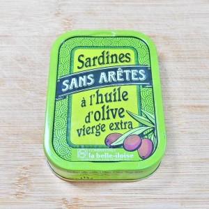 Sardines s/arêtes à l'huile d'olive