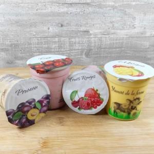Yaourts Pruneau Cerise Mangue Fruits Rouges