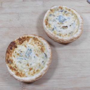 Tartelette aux poireaux